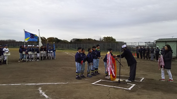 優勝!!【A】2016年秋季山内大会