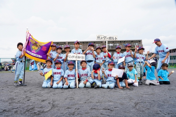 優勝!!【T】第22回ティーボール野球(春季大会)